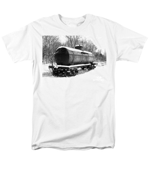 Men's T-Shirt  (Regular Fit) featuring the photograph Off The Beaten Track by Sara  Raber