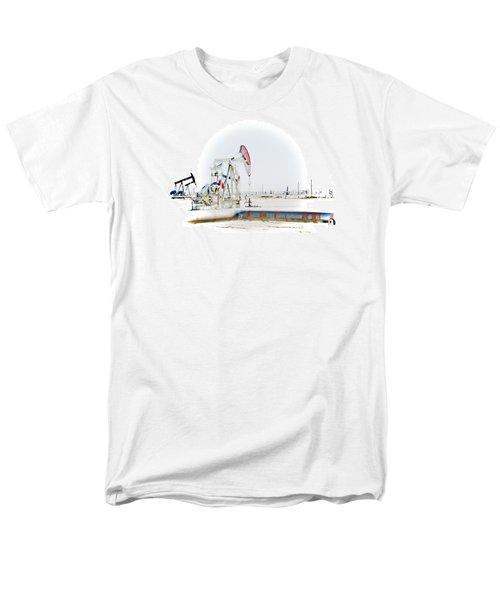 Oil Field Men's T-Shirt  (Regular Fit) by Joel Loftus