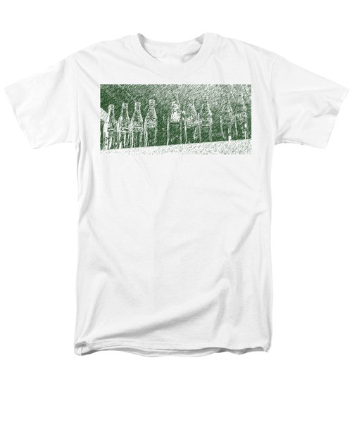 Men's T-Shirt  (Regular Fit) featuring the photograph Old Coke Bottles by Greg Reed