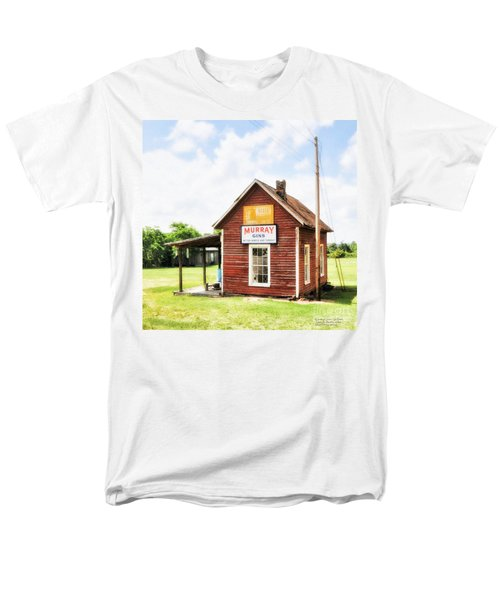 Old Country Cotton Gin Store -  South Carolina - I Men's T-Shirt  (Regular Fit) by David Perry Lawrence
