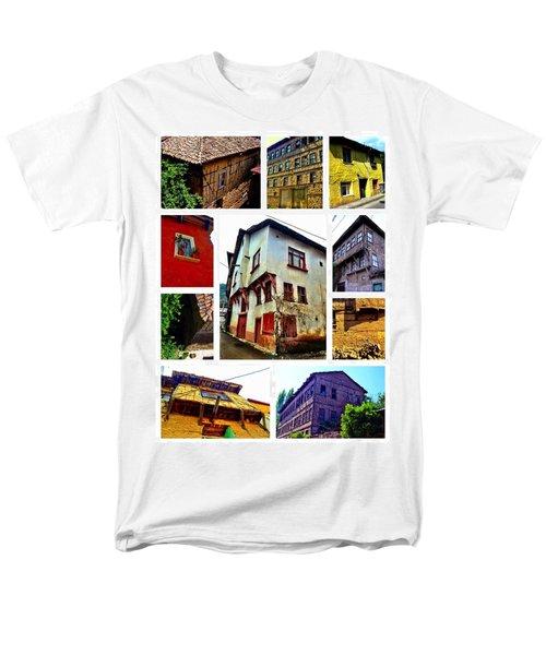 Old Turkish Houses Men's T-Shirt  (Regular Fit) by Zafer Gurel