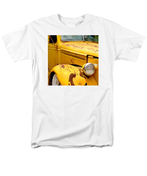 Old Yellow Truck Men's T-Shirt  (Regular Fit) by Art Block Collections