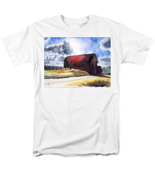 On The Macon Road. - Saline Michigan Men's T-Shirt  (Regular Fit) by Yoshiko Mishina