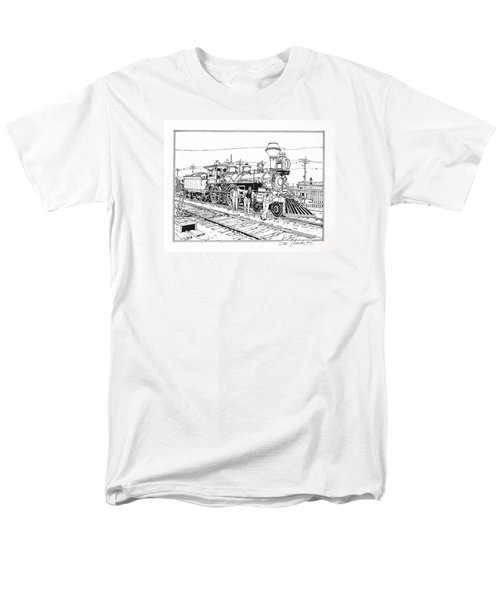 On The Old Pennsy Men's T-Shirt  (Regular Fit) by Ira Shander