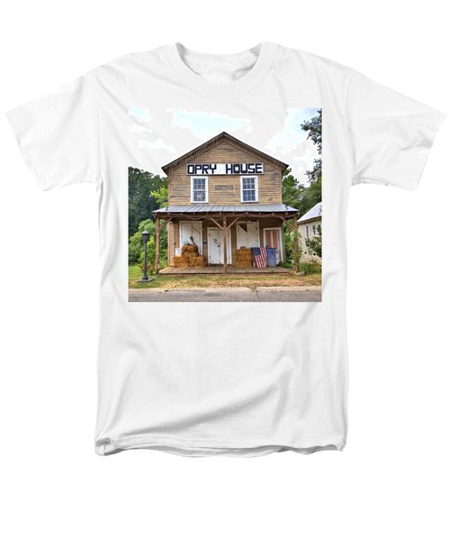 Men's T-Shirt  (Regular Fit) featuring the photograph Opry House - Square by Gordon Elwell