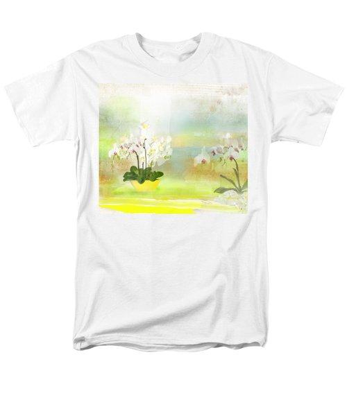 Orchids - Limited Edition 1 Of 10 Men's T-Shirt  (Regular Fit) by Gabriela Delgado