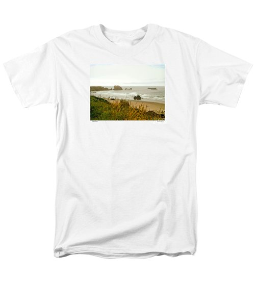 Oregon Beach Men's T-Shirt  (Regular Fit)
