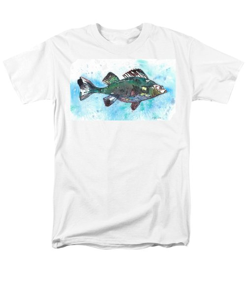 Men's T-Shirt  (Regular Fit) featuring the painting Out Of School by Barbara Jewell