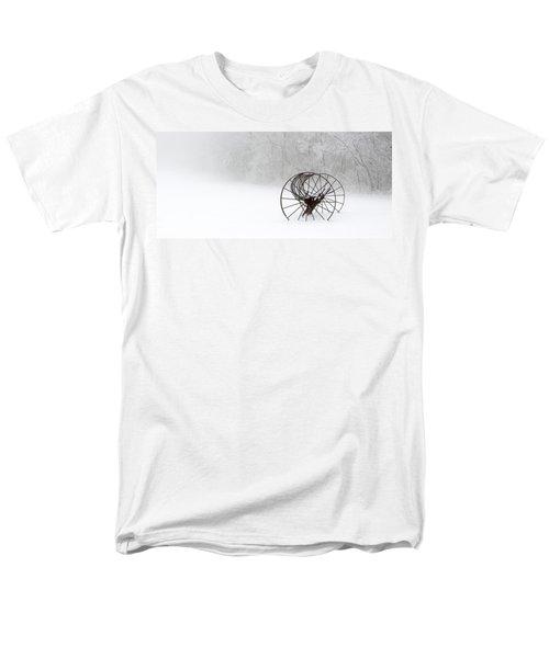 Out Of The Mist A Forgotten Era II Men's T-Shirt  (Regular Fit) by Greg Reed