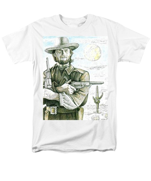 Outlaw Josey Wales Men's T-Shirt  (Regular Fit) by Bern Miller