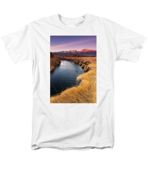 Owens River Men's T-Shirt  (Regular Fit) by Tassanee Angiolillo