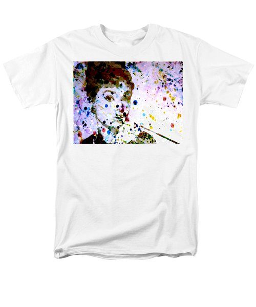 Men's T-Shirt  (Regular Fit) featuring the digital art Paint Drops by Brian Reaves
