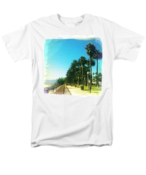 Palisades Park Men's T-Shirt  (Regular Fit) by Nina Prommer