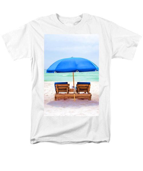 Men's T-Shirt  (Regular Fit) featuring the photograph Panama City Beach II by Vizual Studio