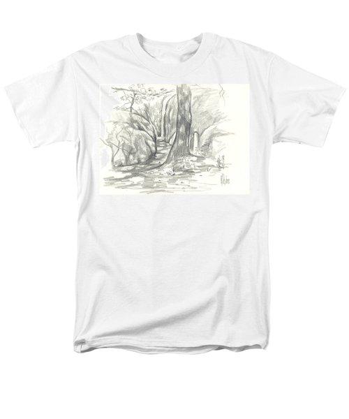 Passageway At Elephant Rocks Men's T-Shirt  (Regular Fit) by Kip DeVore