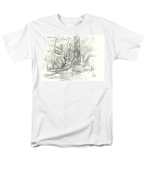 Passageway At Elephant Rocks Men's T-Shirt  (Regular Fit)