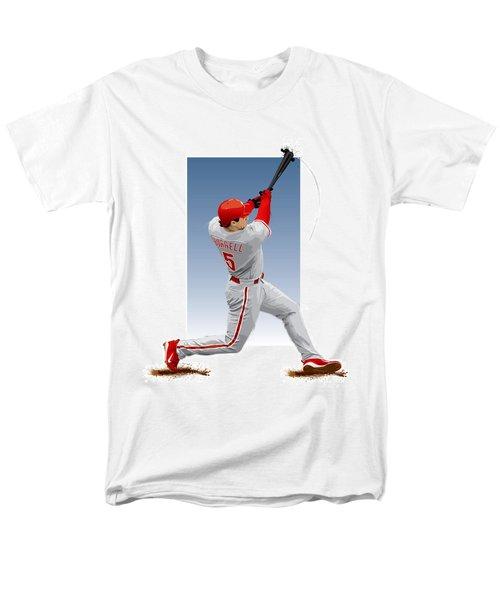 Pat The Bat Burrell Men's T-Shirt  (Regular Fit) by Scott Weigner