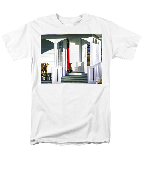 Patience Men's T-Shirt  (Regular Fit) by Steven Reed