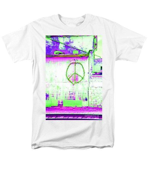 Peace 2 Men's T-Shirt  (Regular Fit) by Minnie Lippiatt