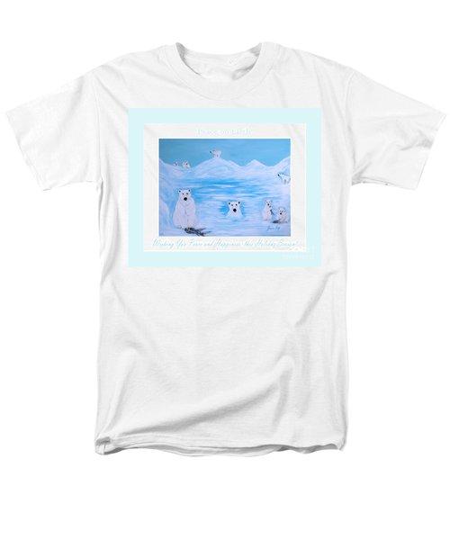 Peace On Earth Men's T-Shirt  (Regular Fit)