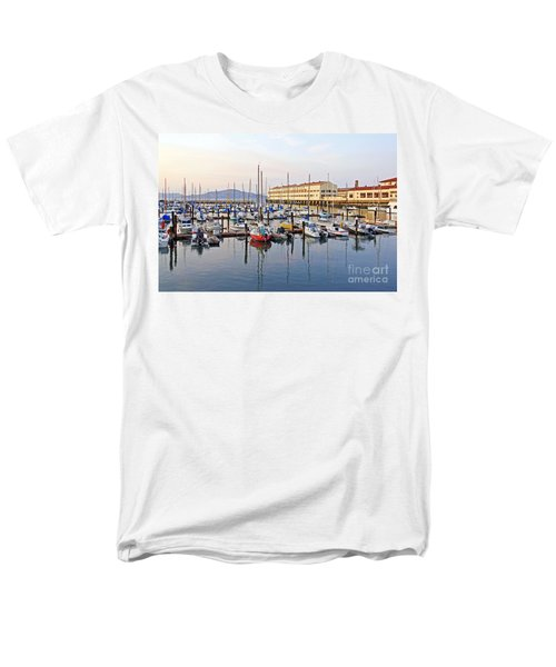 Men's T-Shirt  (Regular Fit) featuring the photograph Peaceful Marina by Kate Brown