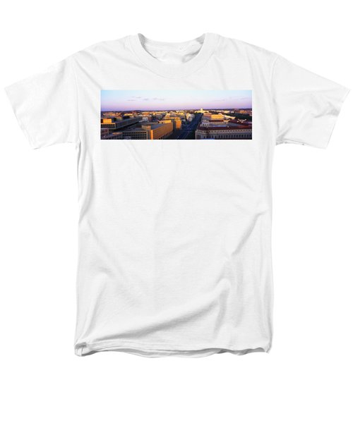 Pennsylvania Ave Washington Dc Men's T-Shirt  (Regular Fit) by Panoramic Images