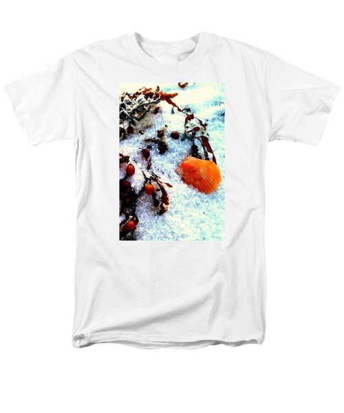 Pensacola Beach Sand Men's T-Shirt  (Regular Fit) by Faith Williams