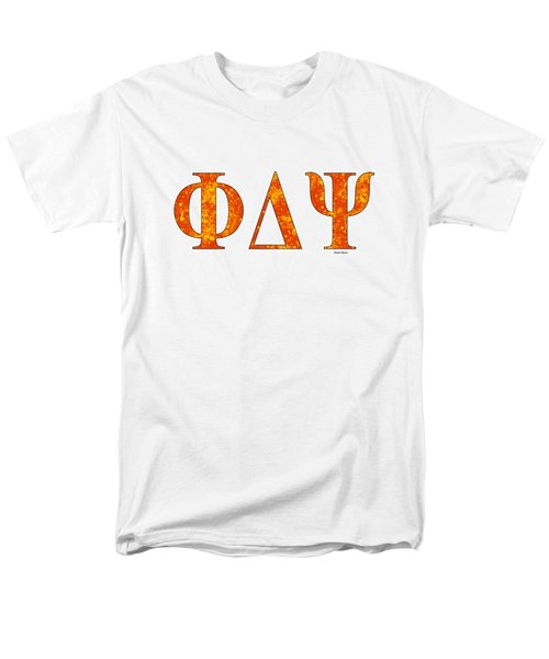 Phi Delta Psi - White Men's T-Shirt  (Regular Fit) by Stephen Younts