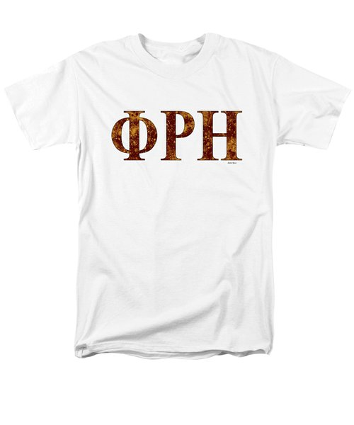 Phi Rho Eta - White Men's T-Shirt  (Regular Fit) by Stephen Younts