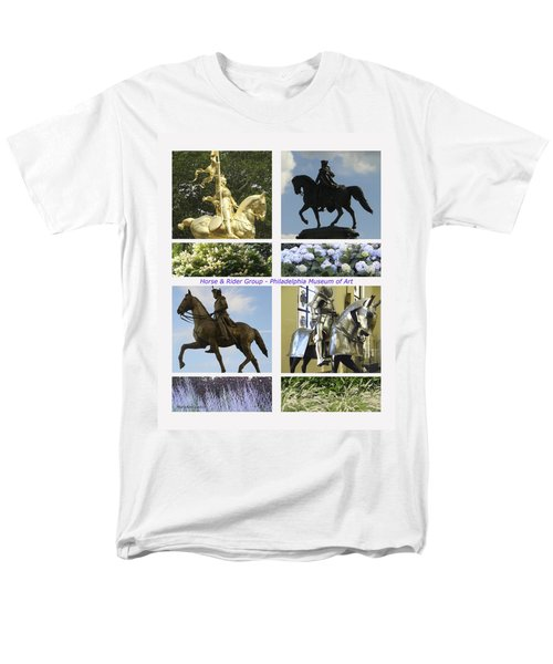 Philadelphia Museum Of Art Men's T-Shirt  (Regular Fit) by Mary Ann Leitch