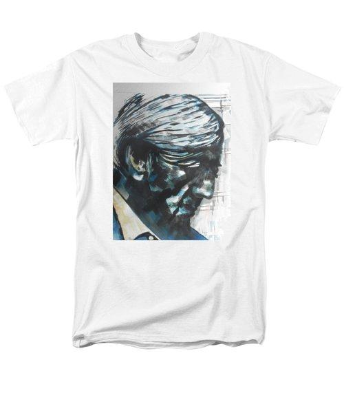 Philospher Jiddu Krishnamurti Men's T-Shirt  (Regular Fit) by Chrisann Ellis