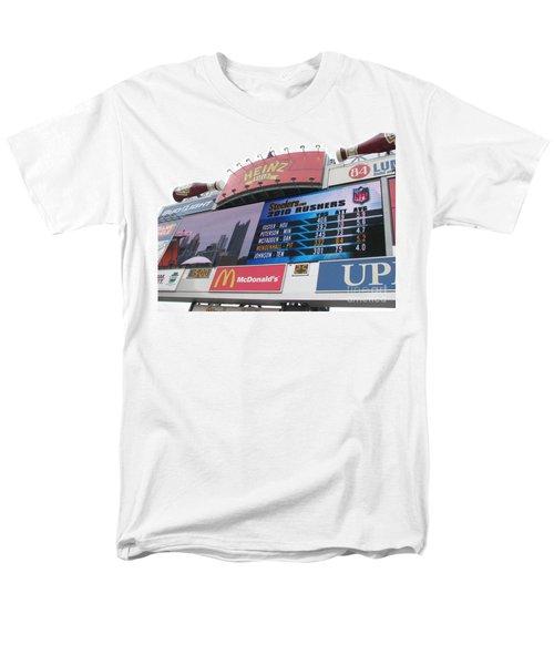 Men's T-Shirt  (Regular Fit) featuring the photograph Pittsburgh Ketchup  by Michael Krek