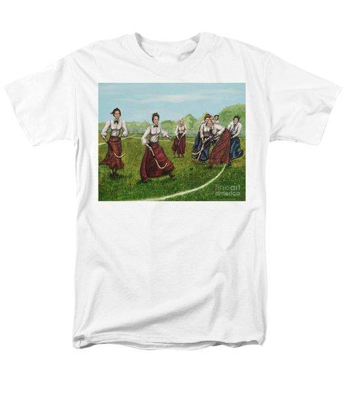 Play Of Yesterday Men's T-Shirt  (Regular Fit) by Linda Simon