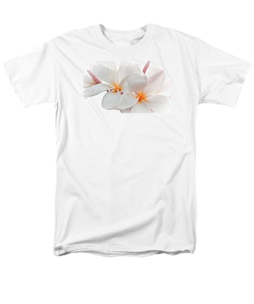 Men's T-Shirt  (Regular Fit) featuring the photograph Plumeria by Roselynne Broussard