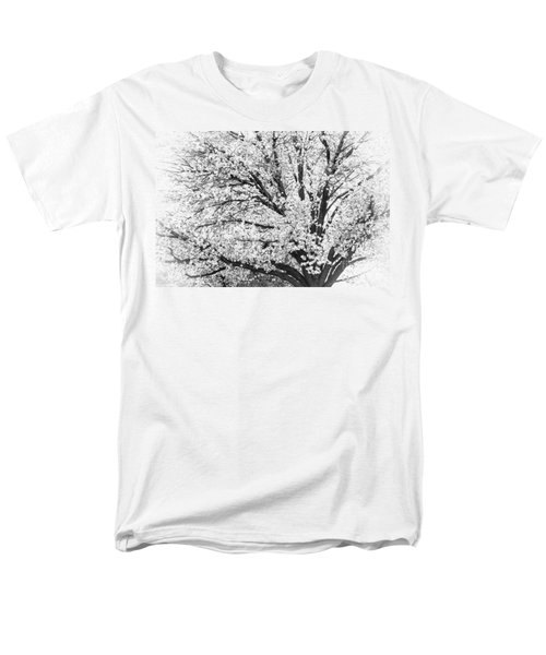 Men's T-Shirt  (Regular Fit) featuring the photograph Poetry Tree by Roselynne Broussard