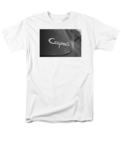 Standing Porsche Cayman S Men's T-Shirt  (Regular Fit) by Miguel Winterpacht