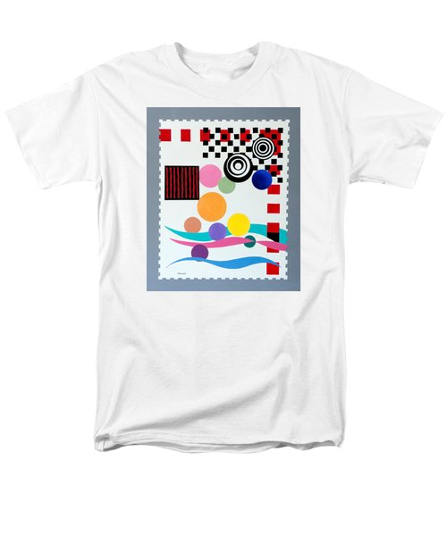 Postage Paid Men's T-Shirt  (Regular Fit) by Thomas Gronowski