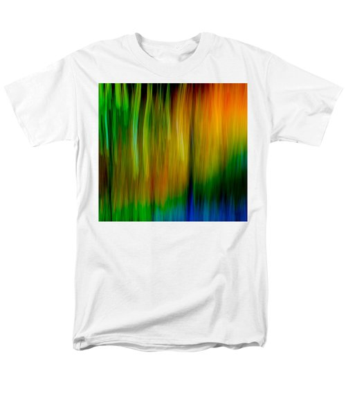 Men's T-Shirt  (Regular Fit) featuring the photograph Primary Rainbow by Darryl Dalton