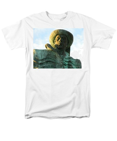 Men's T-Shirt  (Regular Fit) featuring the photograph Prince Henry The Navigator by Kathy Barney