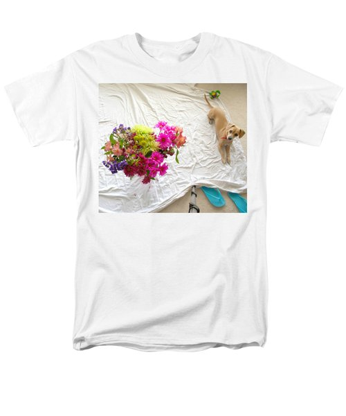 Princess On Assignment Men's T-Shirt  (Regular Fit) by Angela J Wright