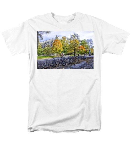 Princeton University Campus Men's T-Shirt  (Regular Fit) by Madeline Ellis