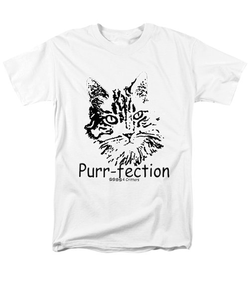 Men's T-Shirt  (Regular Fit) featuring the photograph Purr-fection by Robyn Stacey