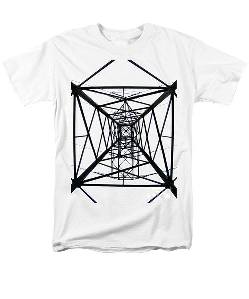Men's T-Shirt  (Regular Fit) featuring the photograph Pylon by Nina Ficur Feenan