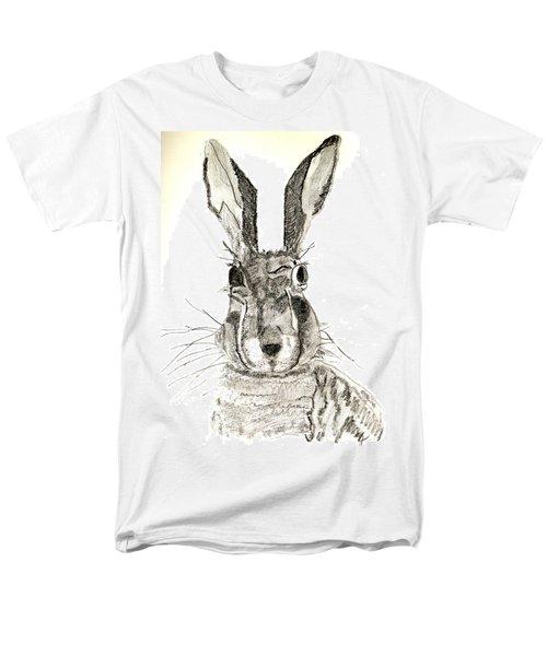 Rabbit Men's T-Shirt  (Regular Fit) by Sandy McIntire
