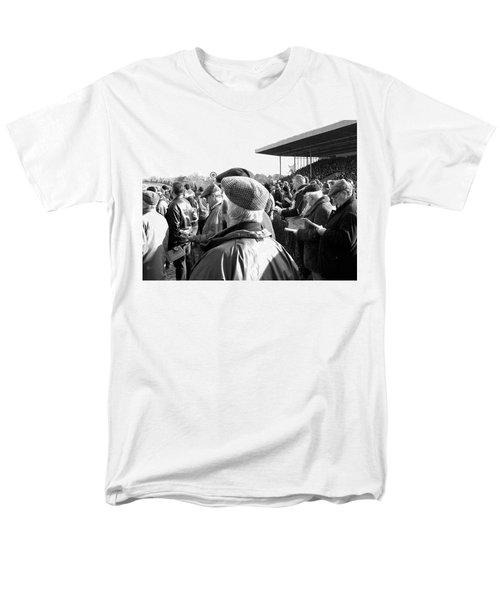 Men's T-Shirt  (Regular Fit) featuring the photograph Race Day by Suzanne Oesterling