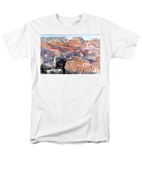 Men's T-Shirt  (Regular Fit) featuring the painting Ravens by Donald Maier
