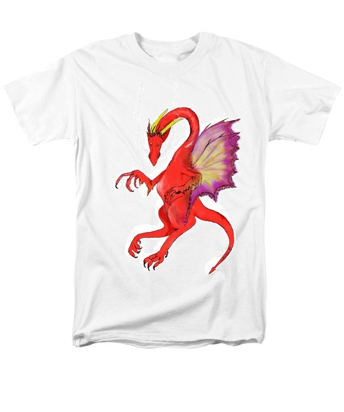 Red Dragon Men's T-Shirt  (Regular Fit)