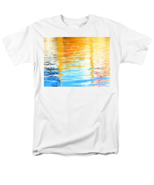 Reflections Of The Setting Sun Men's T-Shirt  (Regular Fit) by Roselynne Broussard