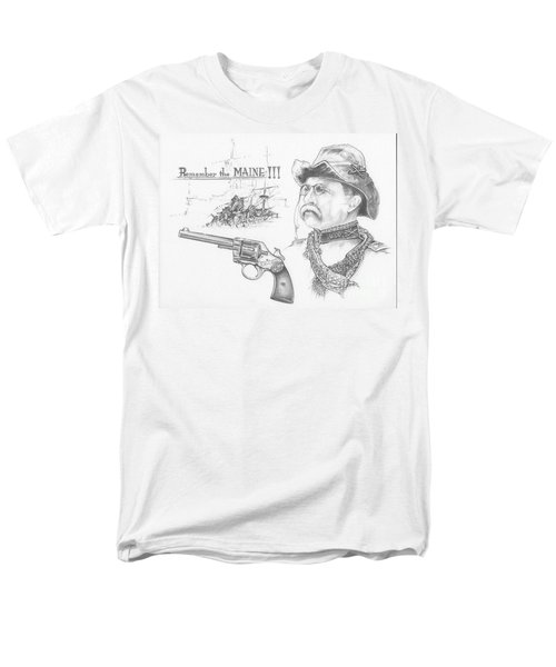 Remember The Maine Men's T-Shirt  (Regular Fit) by Scott and Dixie Wiley