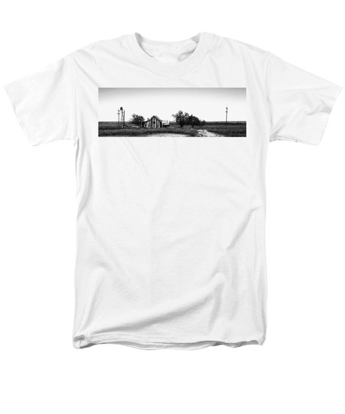 Remnants Of The Dust Bowl Men's T-Shirt  (Regular Fit) by Lon Casler Bixby